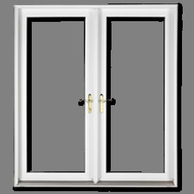 Geometric Top Single Hung door