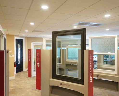 Our wide range of Simonton windows available. Everything you see in our Orange County showroom is available for window replacement