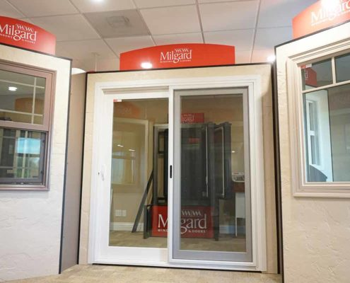 Milgard doors available in our showroom