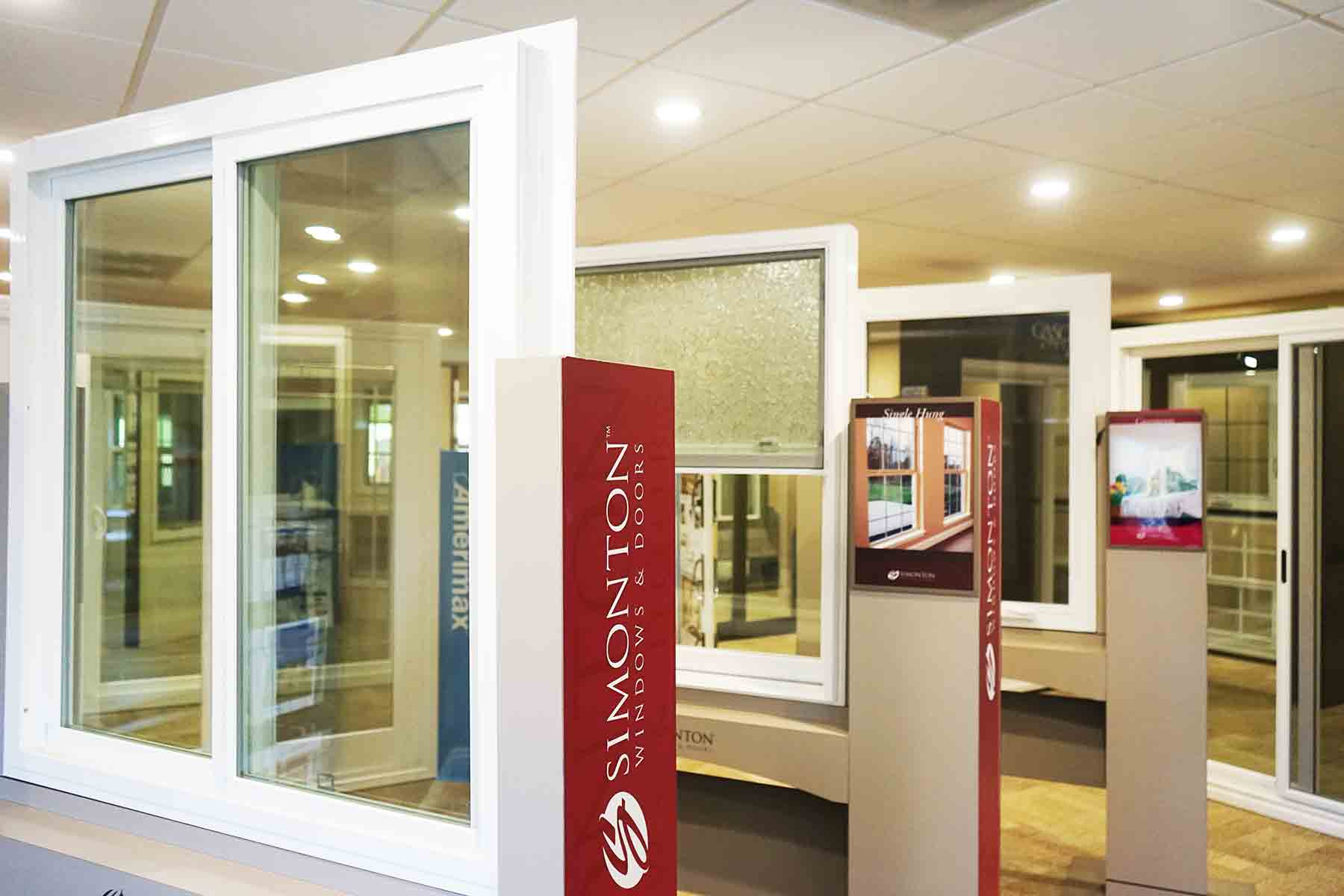 Another angle of our simonton showroom