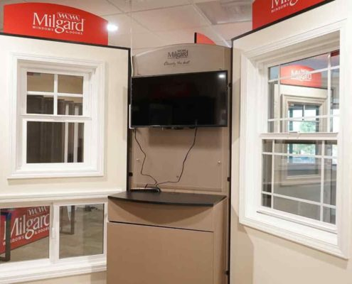 Milgard windows available in our showroom