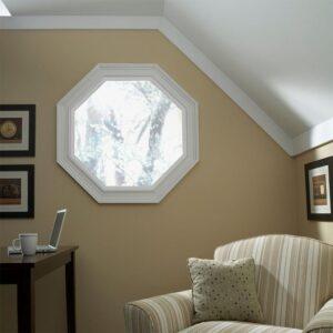 Custom geometric windows